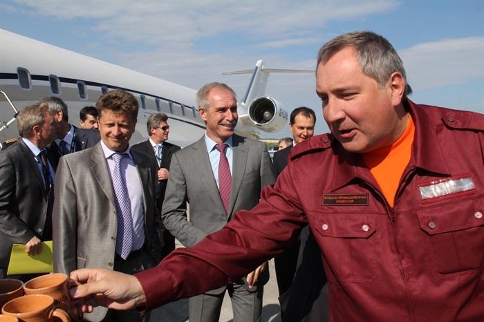 Рогозин приехал синспекцией на«Авиастар-СП»