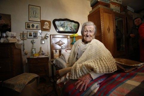 ВИталии скончалась старейшая жительница Земли