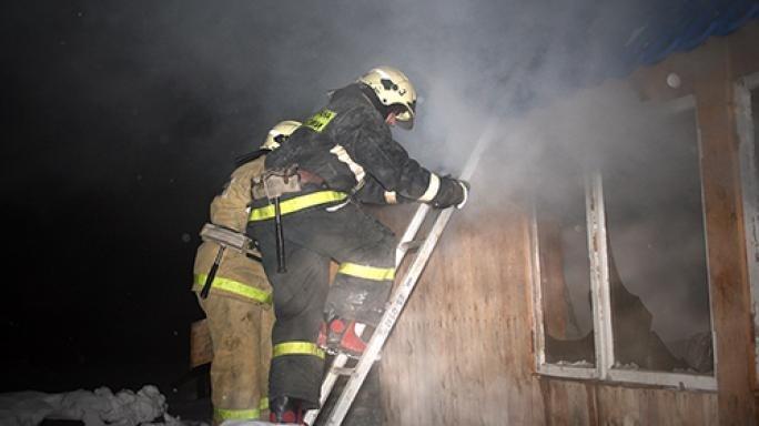 ВНиколаевском районе сгорел ФАП. имеется пострадавший