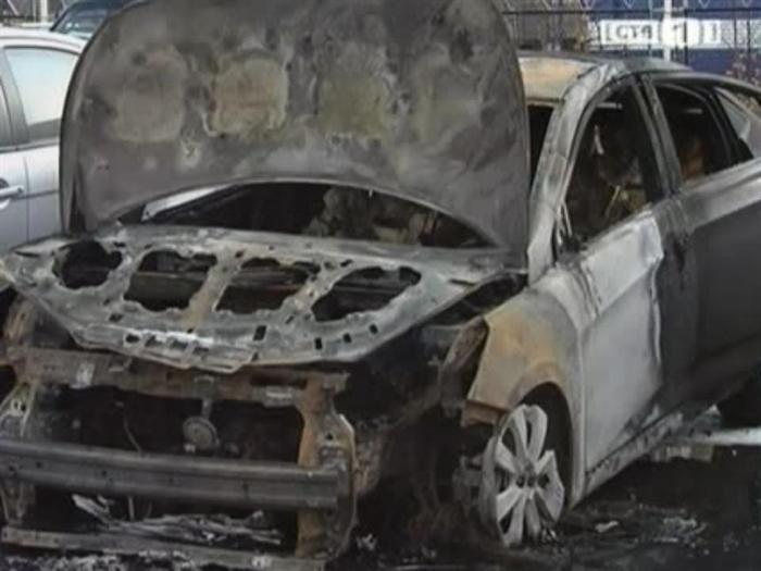ВМелекесском районе сгорела «девяностодевятка»
