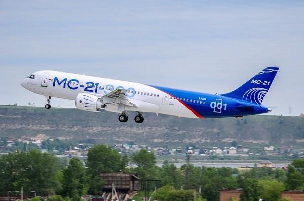 МС-21-300 совершил первый полет