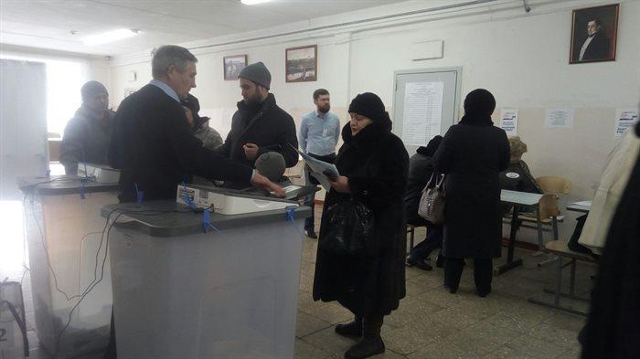 ВУльяновской области явка избирателей на18 часов составила 57,43%
