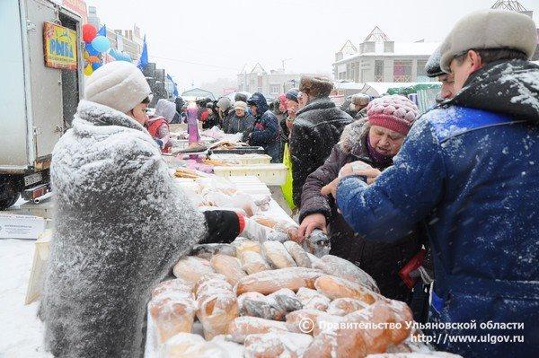 ВУльяновске наулице Минаева состоится очередная сельхозярмарка