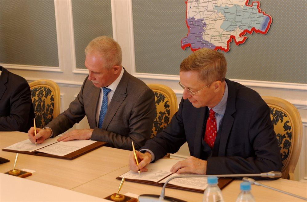 Немецкая делегация в Ульяновске порадовалась энергии и ветру