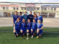 Женская «Волга» выиграла первенство Ульяновска