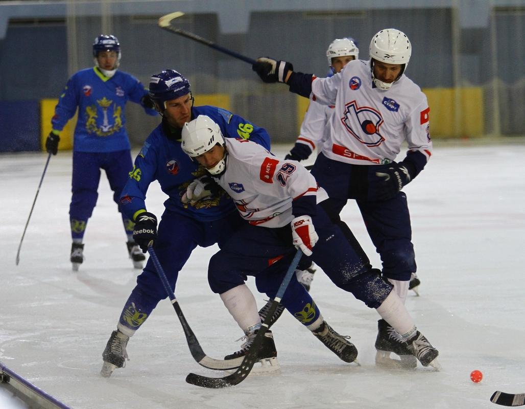 «Волга» обыграла «Старт» вматче чемпионата РФ похоккею смячом