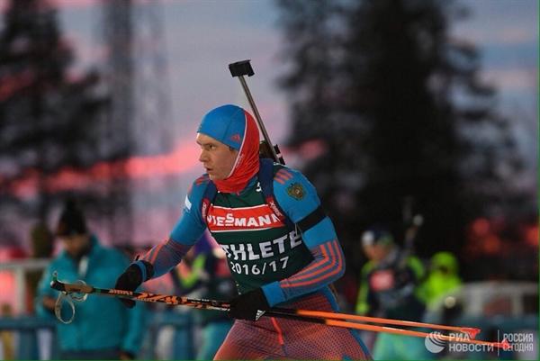 Вологодский спортсмен Максим Цветков— 2-ой врейтинге Союза биатлонистов Российской Федерации