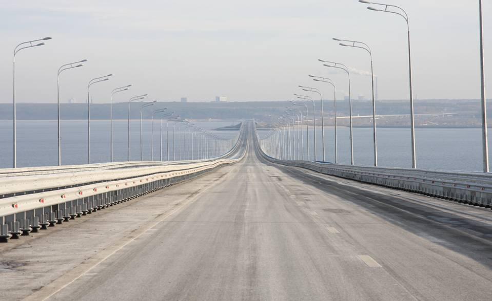 ВЛевобережье построят развязку отПрезидентского моста доВерхней Террасы