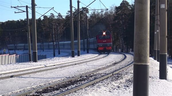 ВУльяновске поезд насмерть сбил мужчину