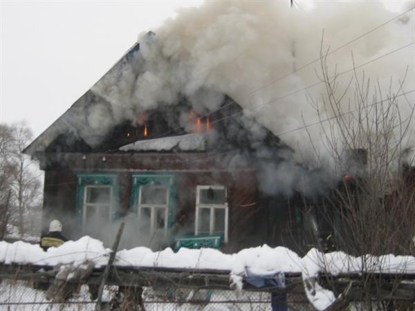 Впожаре из-за нетрезвой сигареты погибли отец исын