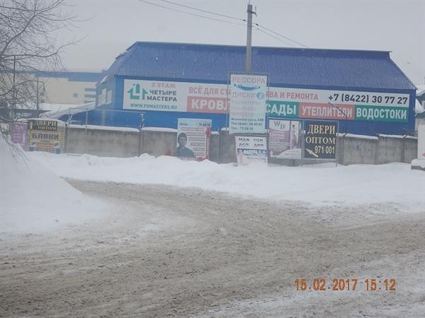 Нелегальную рекламу сцентральных улиц Ульяновска будут убирать