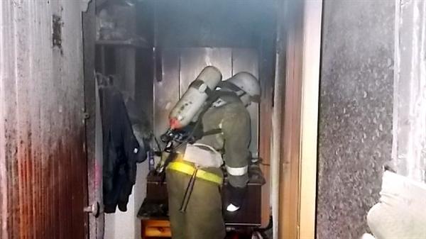 Ульяновец едва не умер вгорящей квартире вЗасвияжье