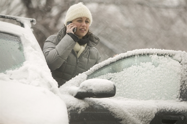 Чердаклинские работники ГИБДД спасли замерзающих автомобилистов