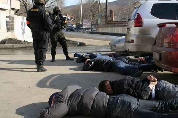 Росгвардия провела массовое задержание членов ОПГ вУльяновске
