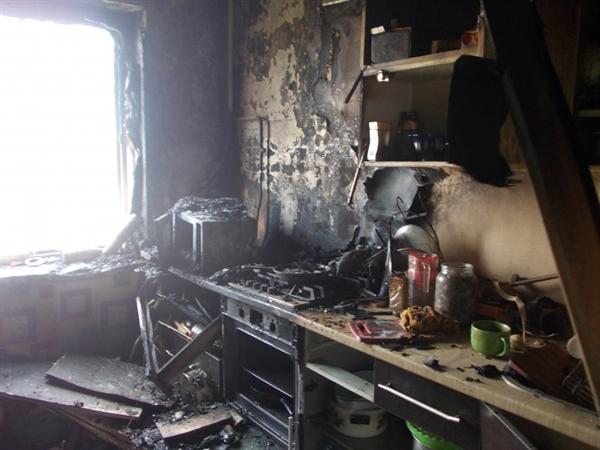 Напожаре вУльяновской области умер мужчина