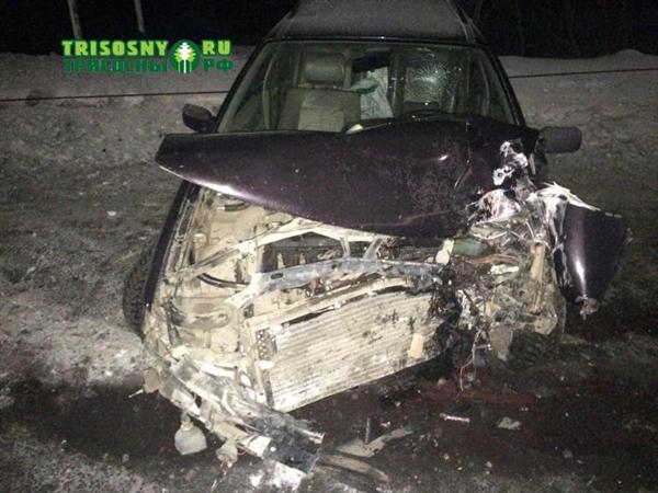 Натрассе Ульяновск— Самара шофёр иномарки врезался встолб и умер
