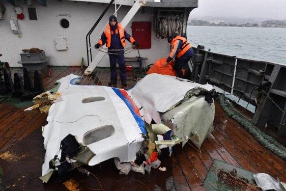 Специалисты Минобороны назвали причины крушения Ту-154