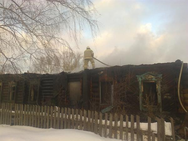 Курение стало первопричиной пожара вСтаромайнском районе. Есть пострадавшие