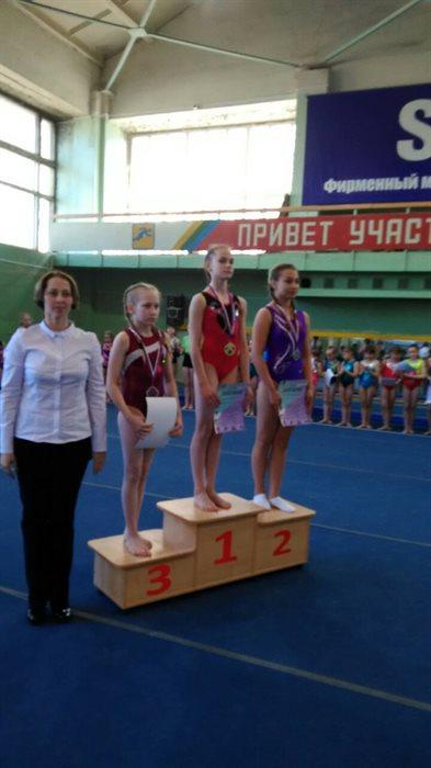 Ульяновская гимнастка стала трехкратной победительницей всероссийского турнира