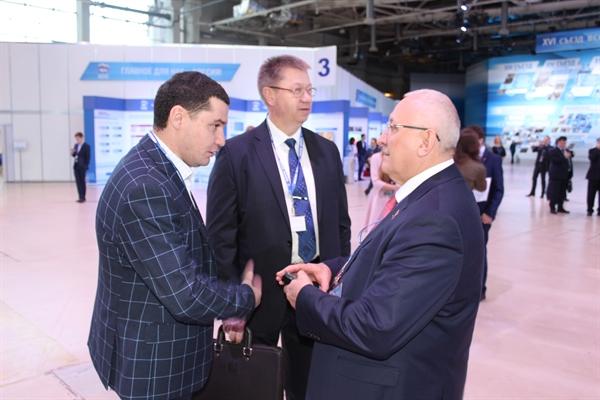 Тамбовская делегация приступила кработе наXVI Съезде партии «Единая Россия»