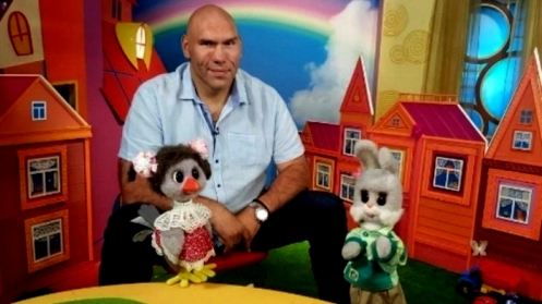 Ведущий «Спокойной ночи, малыши» Валуев уверяет, что дети его не опасаются