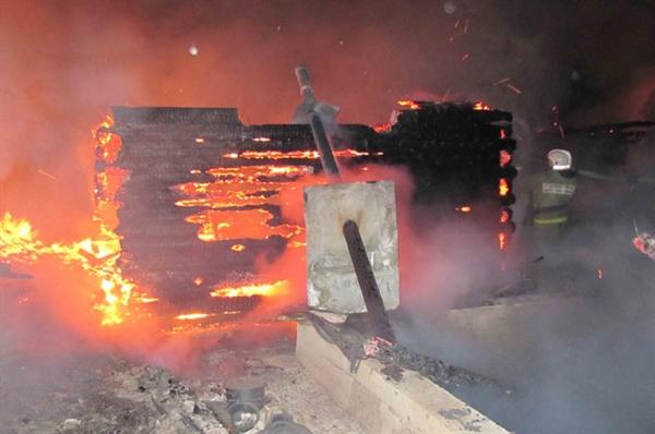 Дом сгорел вКарсунском районе. Есть пострадавшие