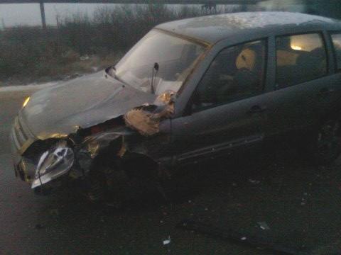 Наугнанном авто попал вДТП