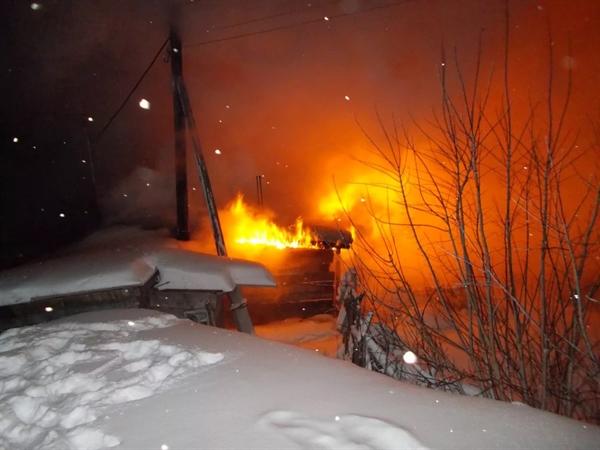 Пожар унёс жизнь мужчины вРадищевском районе
