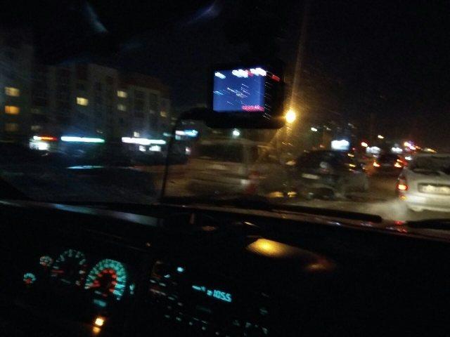 Наулице Рябикова попринципу домино столкнулись 4 машины