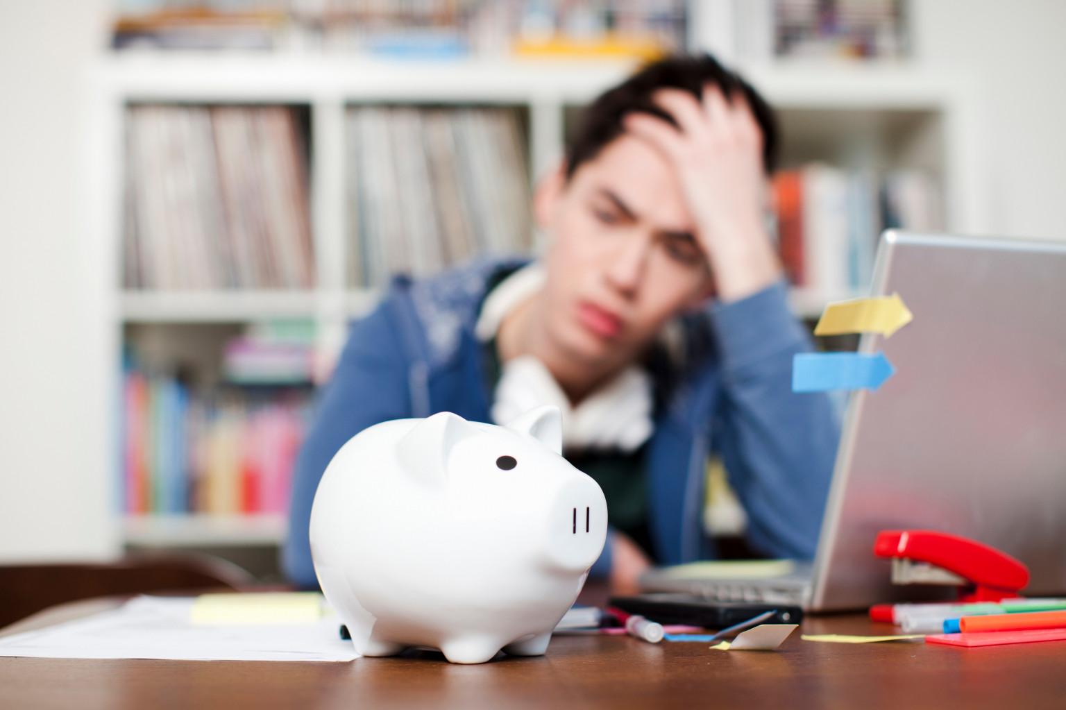 В русском студенчестве растёт процент банковских должников