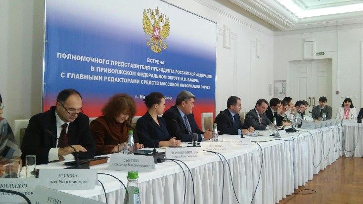 «Ульяновская правда» повстречалась сполпредом Президента вПФО Михаилом Бабичем