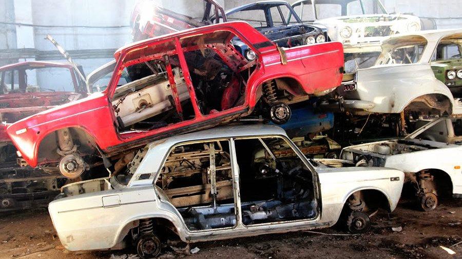 Житель Ульяновской области пытался сдать чужую машину в металлолом
