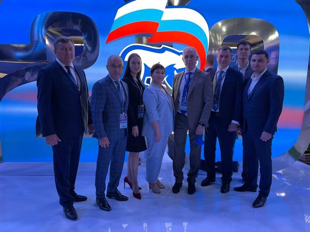 Делегаты из Ульяновской области встречаются на съезде «ЕР» с президентом РФ