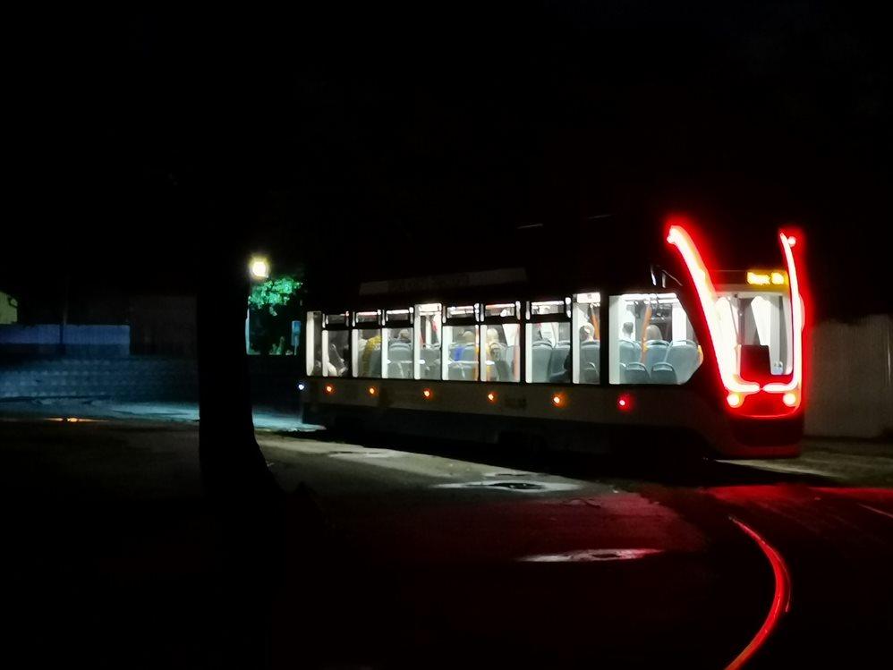 В Ульяновске ночные автобусы и трамваи пользуются популярностью
