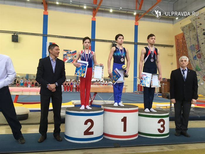 Ульяновский гимнаст  Марат Шайдуллов прославил родной регион